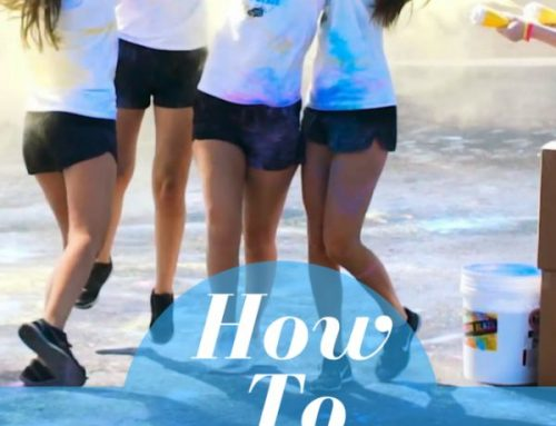 How to Throw Color Powder at a Fun Run