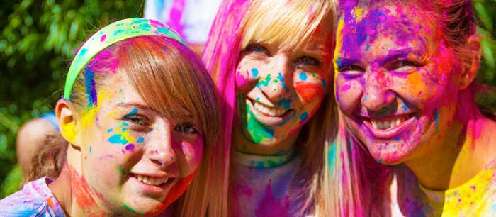 color powder race