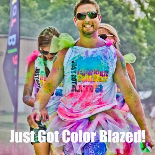 They just got color blazed!