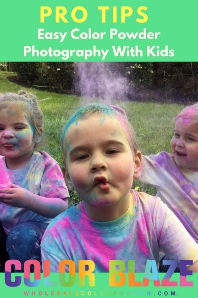Color Powder Photography baby picture