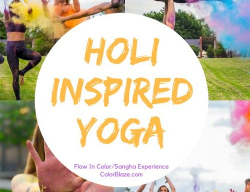Color Powder Experience with Yoga