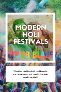 holi powder color image