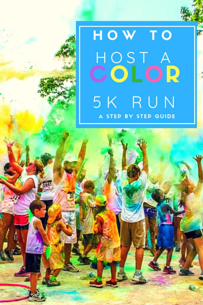 How to host a color 5k run