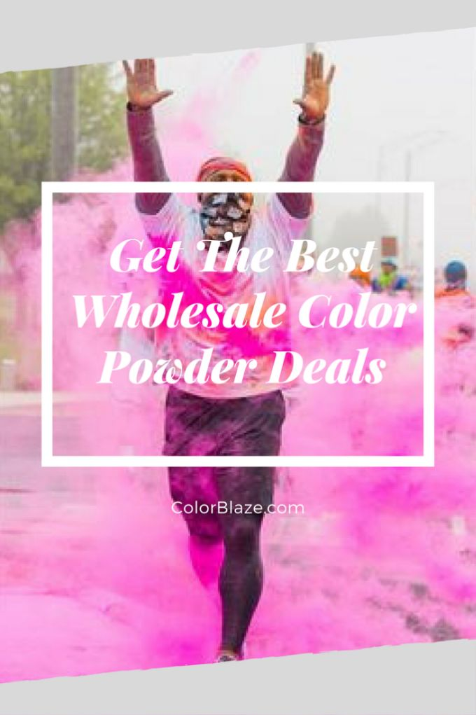 how to make your own color run powder