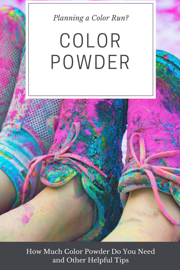color powder run image