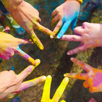 Color Powder Peace