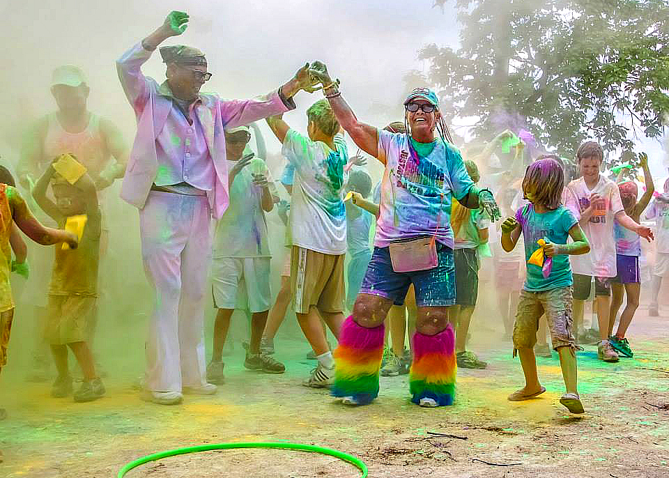 Picture of Color 5k Run party